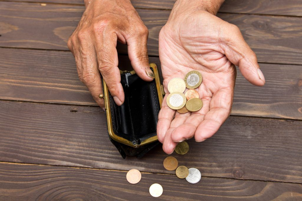 отчитка рода от нищеты