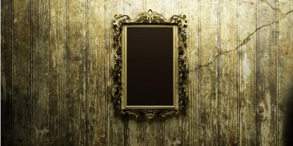 куда деть старинное зеркало