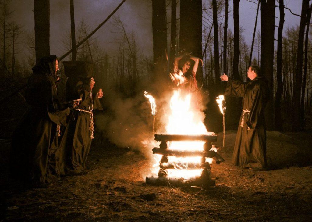 сжигание ведьмы