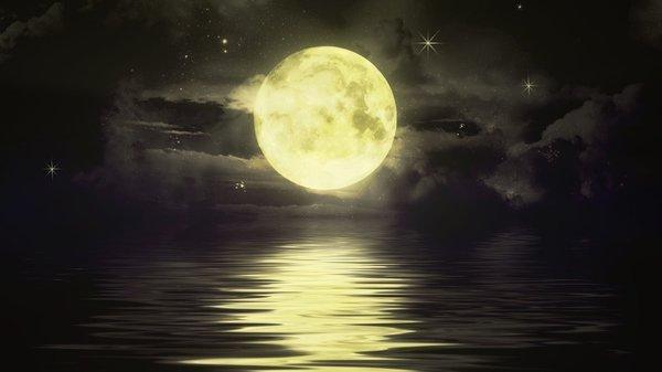 движение луны и ритмы земли