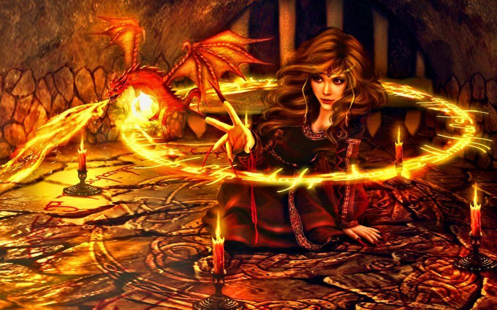 Гадание на огне в ночь на Ивана Капула