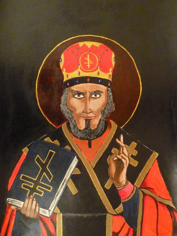 Веретничество подразумевает поклонение черным иконам