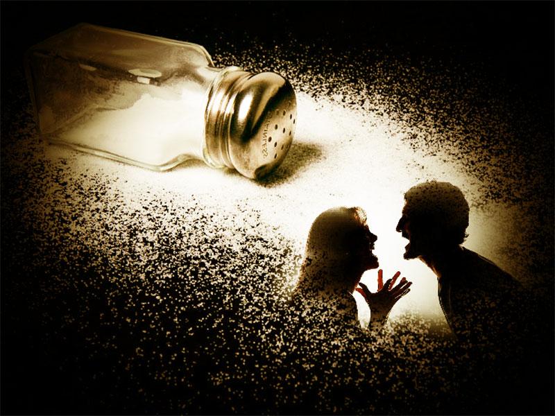 Отвороты и рассорки чаще всего делаются на соль