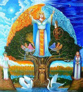Магия земли: сотворение древа жизни