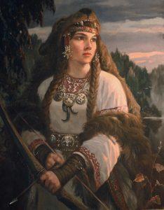 Славянская богиня охоты