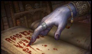 порча через кровь