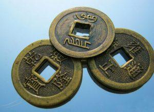 китайские монеты кольца на удачу