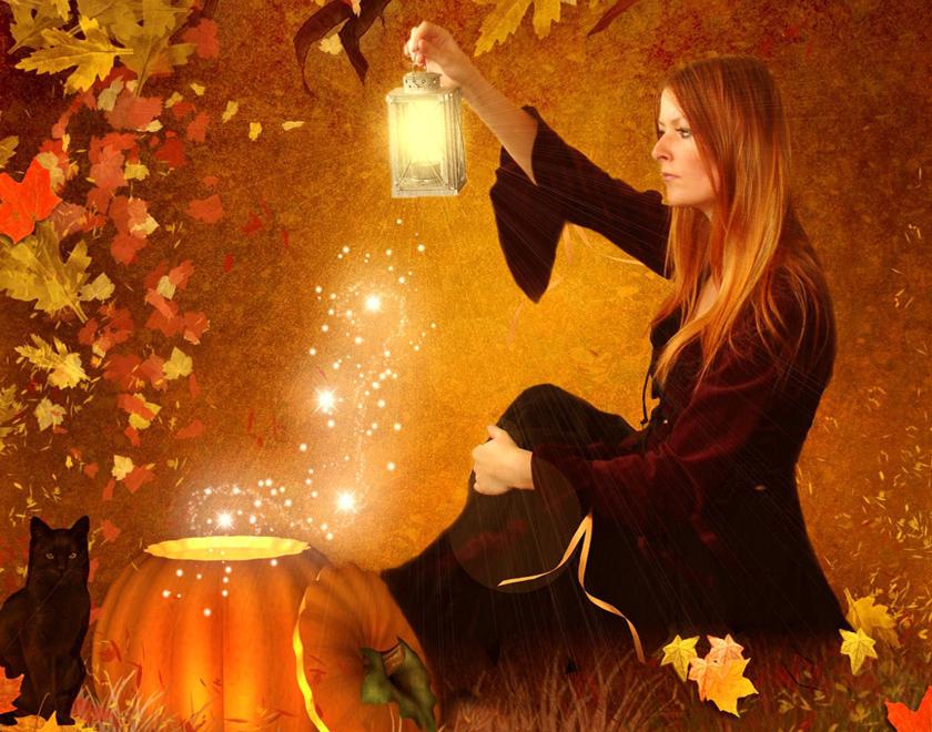 Осенняя магия