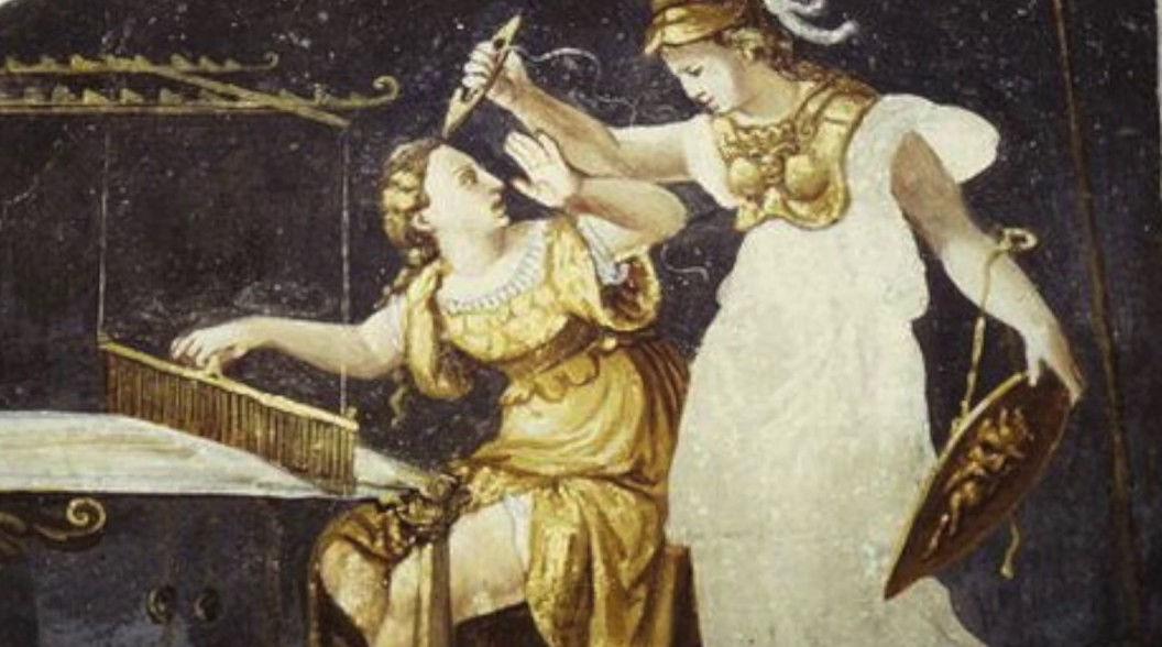 Соревнование Арахны и Афины Паллады